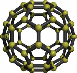 C60 buckyball fullerene