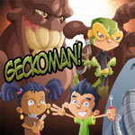 Geckoman video game