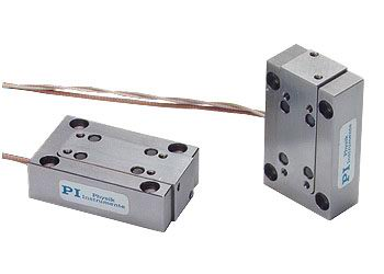 P-753 LISA Piezo Stages / Actuators for X and Z-Motion with Direct Metrology for NanoAutomation®