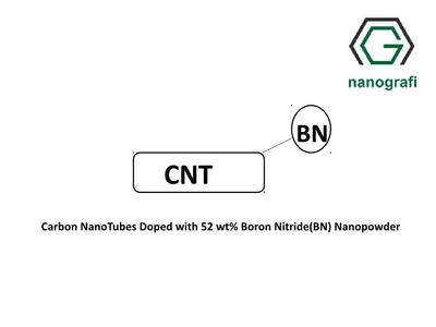 Carbon NanoTubes Doped with 52 wt% Boron Nitride(BN) Nanopowder