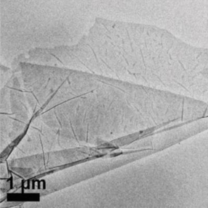 Super-sized Ti3C2 nanosheets (> 10μm)