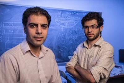 Rouzbeh Shahsavari, left, and Navid Sakhavand