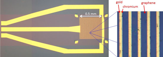 A graphene photothermoelectric detector