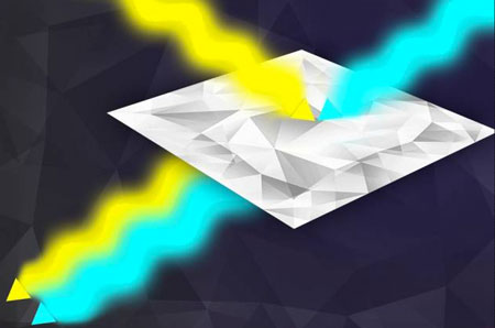 a returning beam of light is mixed with a locally stored beam, and the correlation of their phase, or period of oscillation, helps remove noise caused by interactions with the environment