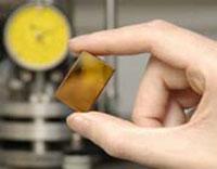 Chalcogenide glass sample