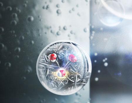 A nanostructured electrod