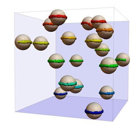 Colloids in liquid crystals