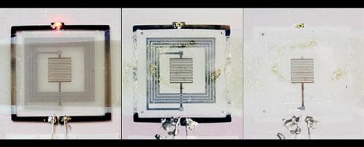 Heat-Triggered Electronic Device Destruction