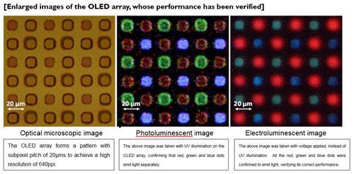 OLED arrays