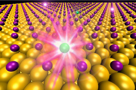 Scientists see elements transform at atomic scale