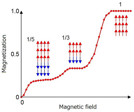 The magnetic structure that gives rise to the Devil's Staircase