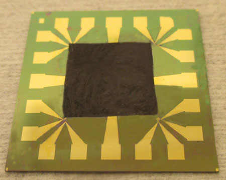 Graphene-Based Film on an Electronic Component