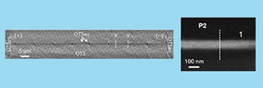ion-conducting nanochannel