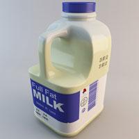 plastic milk bottle