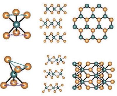 MoTe2 crystal