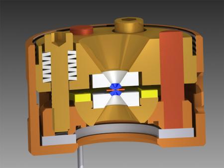 diamond anvil cell, a pressure vessel