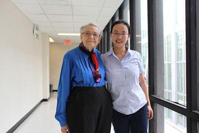 Millie Dresselhaus and Lin Zhou
