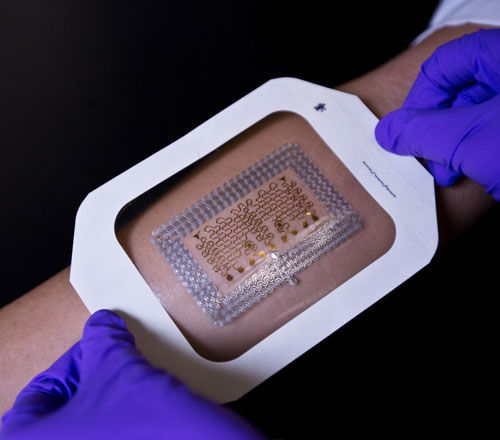 Tattoo Like Electronic Health Patches May Now Be Cheaper