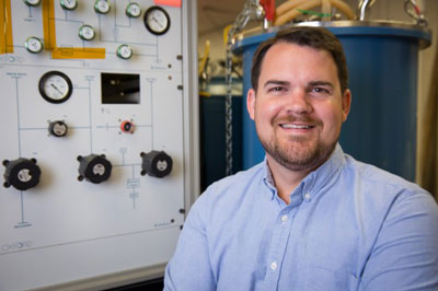 Hugh Churchill directs the Quantum Device Laboratory at the University of Arkansas