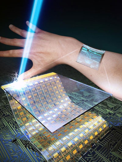 ultrathin, flexible, and transparent oxide thin-film transistors