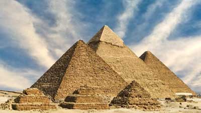 Great Pyramid of Giza inspires nanoparticle design
