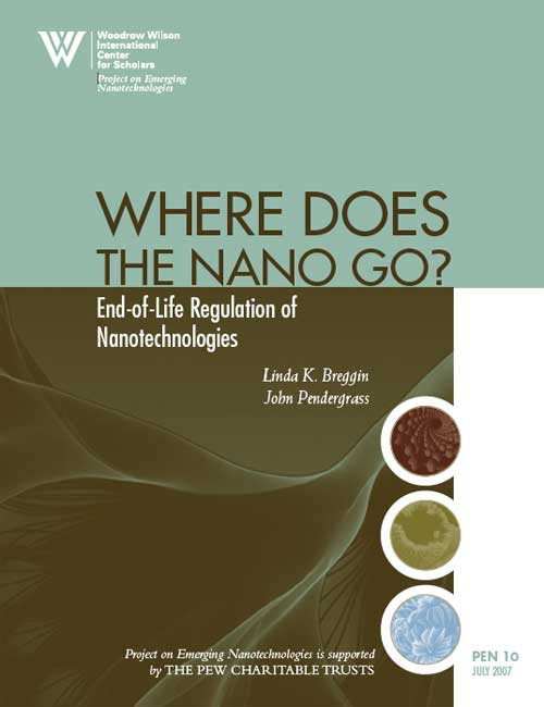 Where Does the Nano Go? End-of-Life Regulation of Nanotechnologies