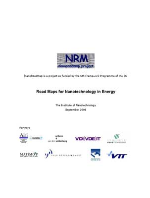 Roadmaps for Nanotechnology in Energy