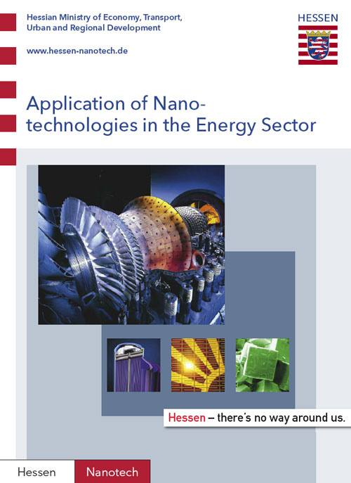 Application of Nanotechnologies in the Energy Sector