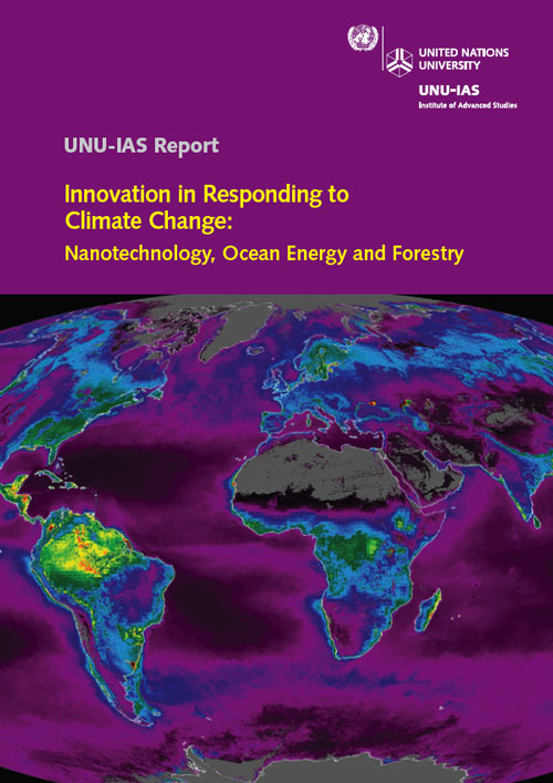 Innovation in Responding to Climate Change: Nanotechnology, Ocean Energy and Forestry