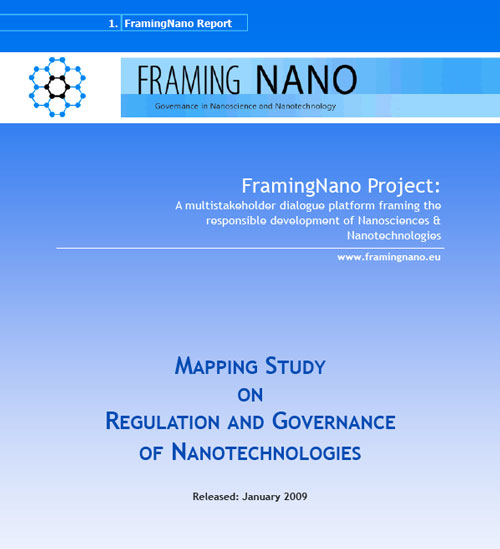 Mapping Study on Regulation and Governance of Nanotechnologies