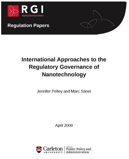 International Approaches to the Regulatory Governance of Nanotechnology