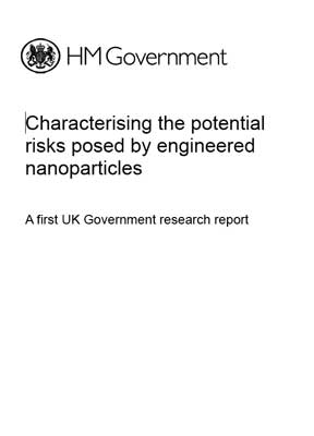 Characterising the potential risks posed by engineered nanoparticles