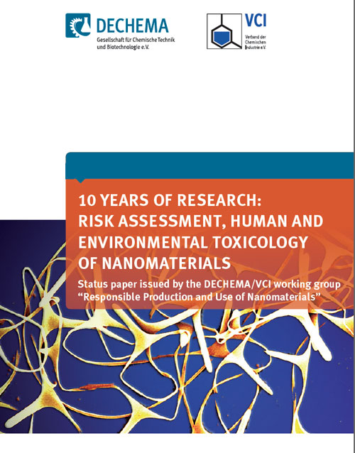 10 Years of Research: Risk Assessment, Human and Environmental Toxicology of Nanomaterials