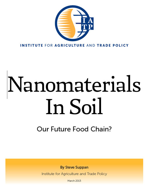 Nanomaterials in Soil - Our food chain?