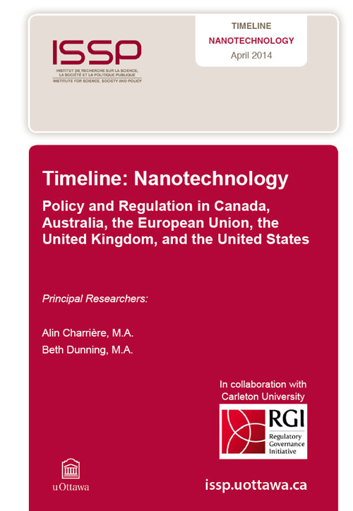 Nanotechnology Policy and Regulation in Canada, Australia, the European Union, the United Kingdom, and the United States