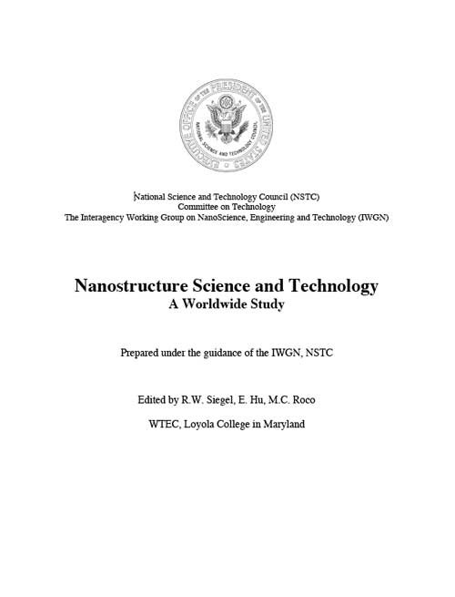 Nanostructure Science and Technology