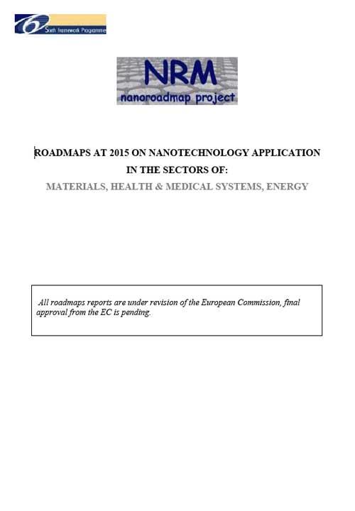 Nanoroadmap Synthesis Report