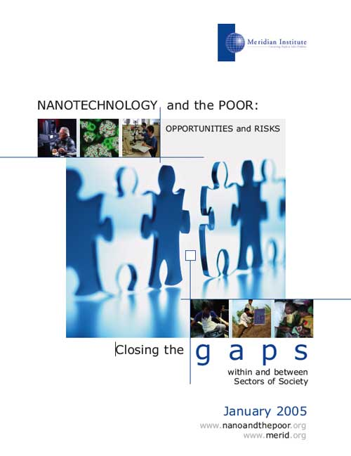 Nanotechnology and the Poor: Opportunities and Risks