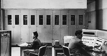 While rudimentary is a fair description of this early computer—the National Bureau of Standards' SEAC, built in 1950—prototype quantum computers have not even reached its level of sophistication