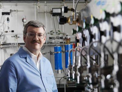 Morris Bullock heads the new Center for Molecular Electrocatalysis at Pacific Northwest National Laboratory