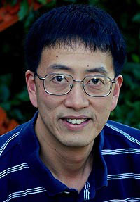 >Physicist Zheng-Tian Lu of the U.S. Department of Energy's Argonne National Laboratory