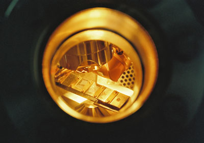 View into a spectrometer