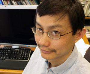 >Hailin Wang is a professor of physics at the University of Oregon