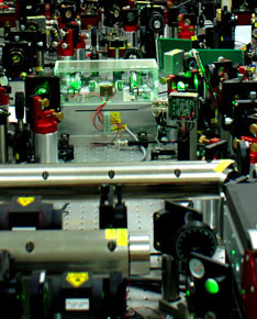 >The experiment array from the ARC Centre of Excellence for Quantum-Atom Optics at ANU.