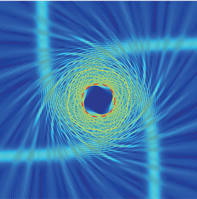 an air-GaInAsP metamaterial mimics a photon-sphere, one of the key black hole phenomena in its interactions with light