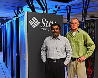 Srinivas Aluru, left, and Steve Nystrom