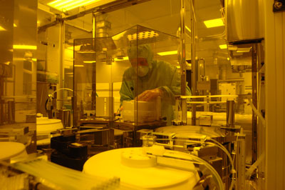 Research at Southampton Nanofabrication Centre