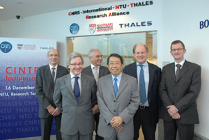 NTU and its French partners unveil a joint research laboratory that seeks to overcome challenges in microelectronics and photonics research