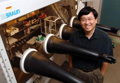 Victor Lin will lead a $5.3 million study of biodiesel production from algae using silica nanoparticles