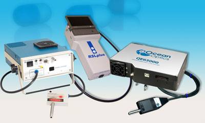 Ocean Optics offers a complete line of Raman options for handheld, laboratory-grade and teaching lab applications